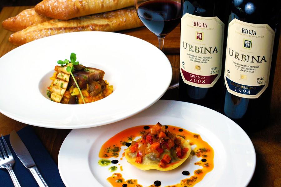 Rioja Wine Dinner with Bodegas Urbina (12 Apr 2016)