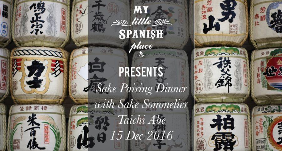 Sake Pairing Dinner (15 Dec 2016)