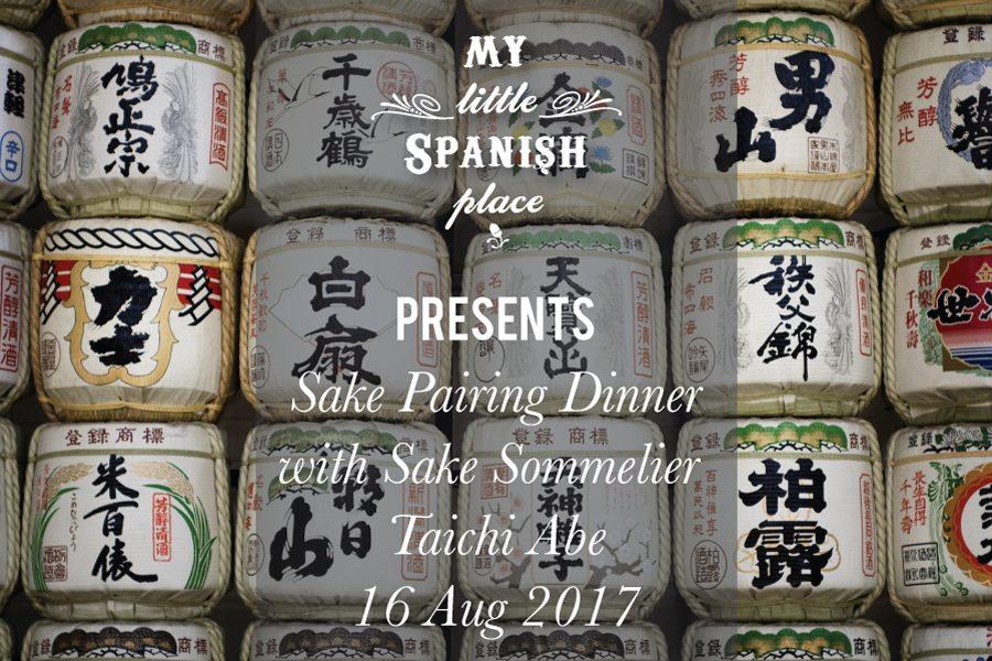 Sake Pairing Dinner (16 Aug 2017)
