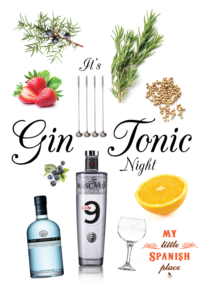 Gin Tonic Nights every Wednesday @ Boat Quay